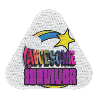 Shooting Star Rainbow Awesome Survivor Speaker