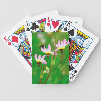 Shooting Star Wildflowers in Mission Trails Park Bicycle Playing Cards