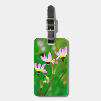 Shooting Star Wildflowers in Mission Trails Park Luggage Tag