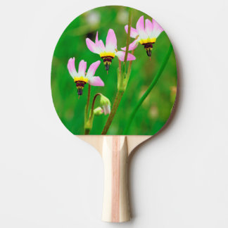 Shooting Star Wildflowers in Mission Trails Park Ping Pong Paddle