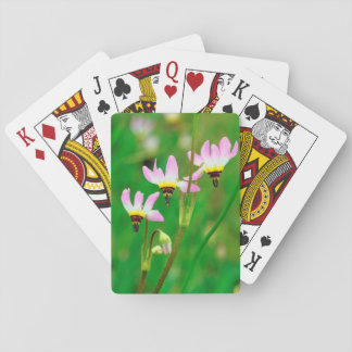 Shooting Star Wildflowers in Mission Trails Park Playing Cards
