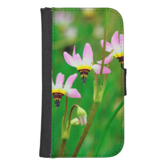 Shooting Star Wildflowers in Mission Trails Park Samsung S4 Wallet Case
