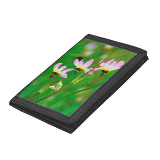 Shooting Star Wildflowers in Mission Trails Park Tri-fold Wallet