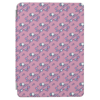 Shooting Stars and Comets Pastel Pink Tablet Cover iPad Air Cover