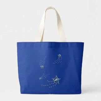 shooting stars canvas bags