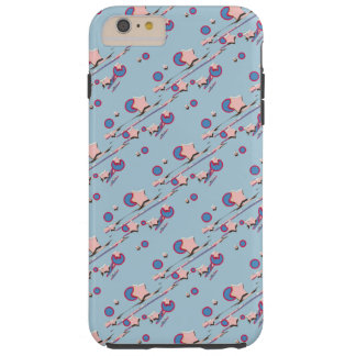 Shooting Stars & Comets Light Blue Cell Phone Case