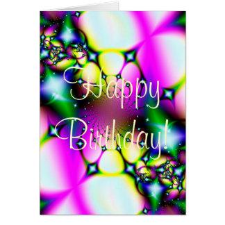 Shooting Stars Happy Birthday! Card