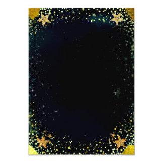Shooting Stars Multi-Purpose Card 11 Cm X 16 Cm Invitation Card