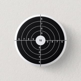 Shooting Target 3 Cm Round Badge