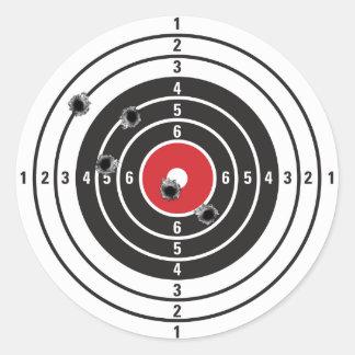 Shooting Target Sticker
