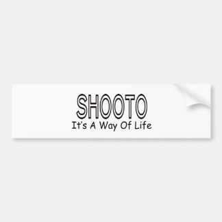 Shooto It s A Way Of Life Bumper Stickers