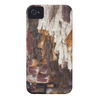 shop displaying an assortment of sausages and iPhone 4 Case-Mate case