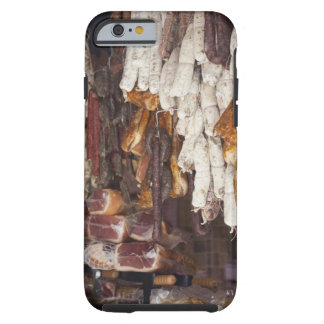 shop displaying an assortment of sausages and tough iPhone 6 case
