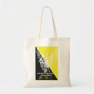 Shop is style with this Voluntaryist Tote! Budget Tote Bag