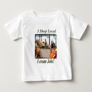 Shop Local create Jobs Clothing. Baby T-Shirt