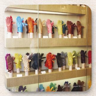 Shop of gloves coaster