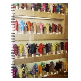Shop of gloves notebook