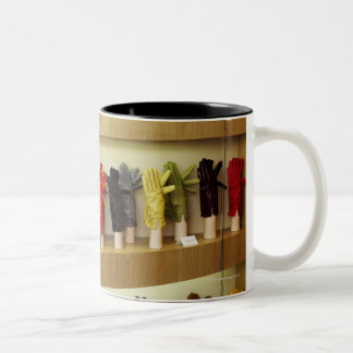 Shop of gloves Two-Tone coffee mug