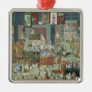 Shop Selling Chinese Goods, mid-18th century (cera Christmas Ornament