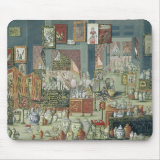Shop Selling Chinese Goods, mid-18th century (cera Mouse Mat