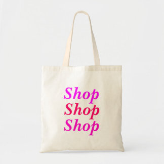 Shop Shop Shop Travel Tote Budget Tote Bag
