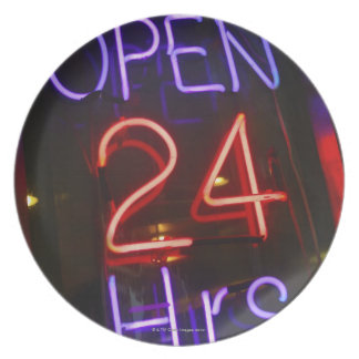 Shop Sign Party Plate