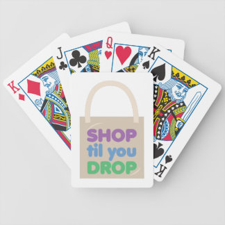 Shop Til You Drop Card Deck