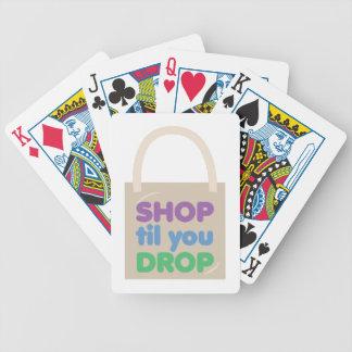 Shop Til You Drop Card Deck