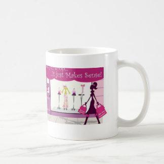Shop Til You Drop Coffee Mug