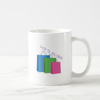 Shop Til You Drop Mug