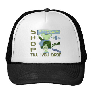 Shop Til You Drop T-shirts and Gifts For Her Hats
