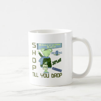 Shop Til You Drop T-shirts and Gifts For Her Mugs