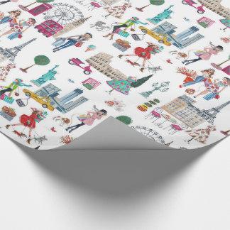 Shop til you drop   wraping paper