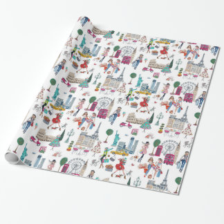 Shop til you drop | wraping paper