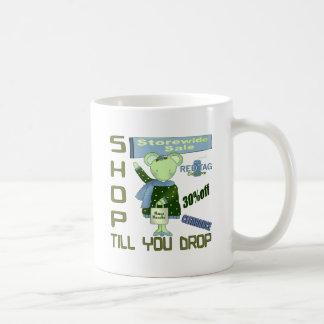 Shop Till You Drop Coffee Mug