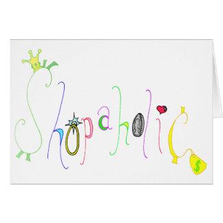 Shopaholic Card