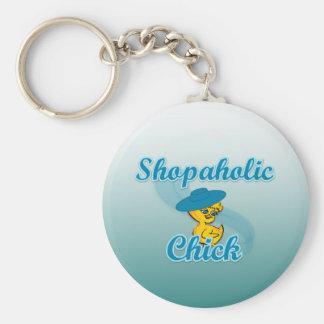 Shopaholic Chick #3 Key Chains
