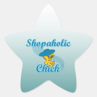 Shopaholic Chick 3 Stickers