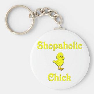 Shopaholic Chick Keychains