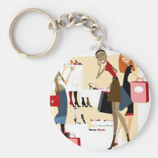 Shopaholic Key Chain