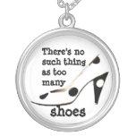 Shopaholic Shoe Fan Necklaces