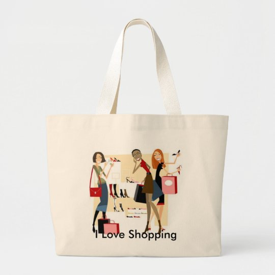 Shopaholic Shopping Bag