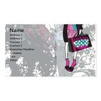 shopper business card templates
