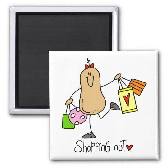 Shopper Gift Square Magnet