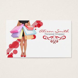 Shopper personnel business card