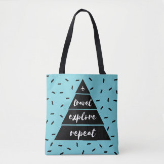 Shoppers Bag - Travel -Explore - Repeat