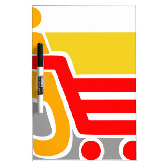 shopping - Abstract Dry-Erase Whiteboard