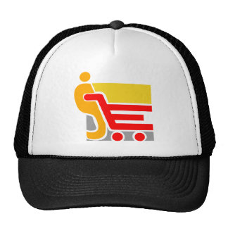 shopping - Abstract Hat