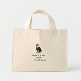 Shopping bag gay dog