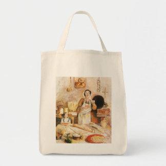 """Shopping bag, """"Grandma's Kitchen"""""""